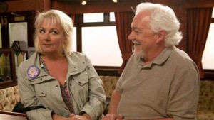 Barry begins his 'chat-up' of Eileen in Coronation Street